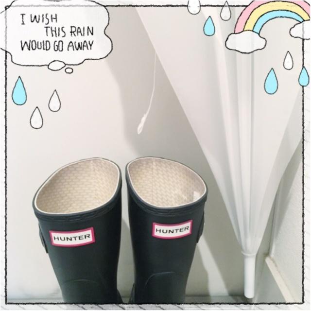 梅雨も楽しく乗り切ろう★100均アイテムでビニール傘をDIY♡_1
