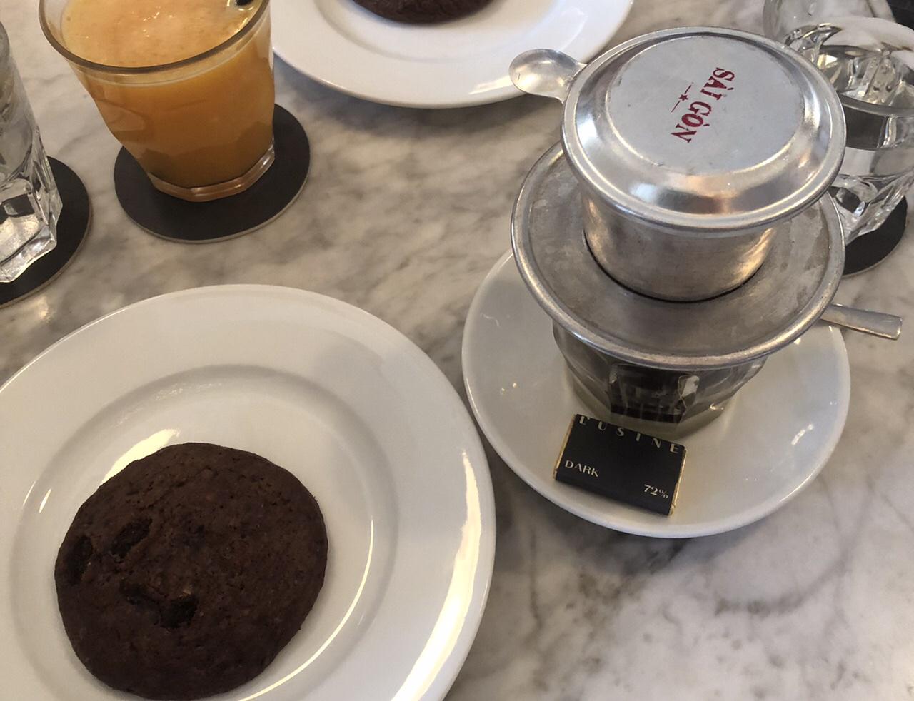ベトナム式コーヒーの写真