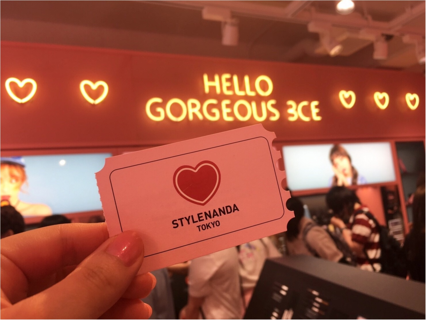 【Beauty】韓国コスメの代表格!可愛すぎ♡スタイルナンダ 3CEが原宿にOPEN♥_5