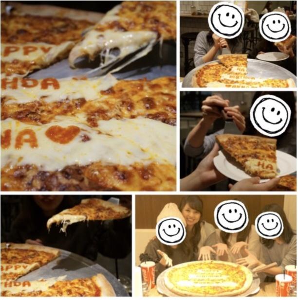 《サプライズは突然に♡》メッセージ入りのピザって見たことある?PIZZA SLICEの【バースデーピザ】が誕生日祝いの新定番‼︎_6