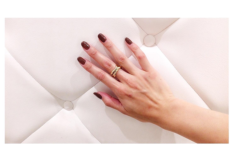 今、注目の【3連リング】存在感抜群のリングが手元を一気に華やかな雰囲気に。。♡♡♡_2