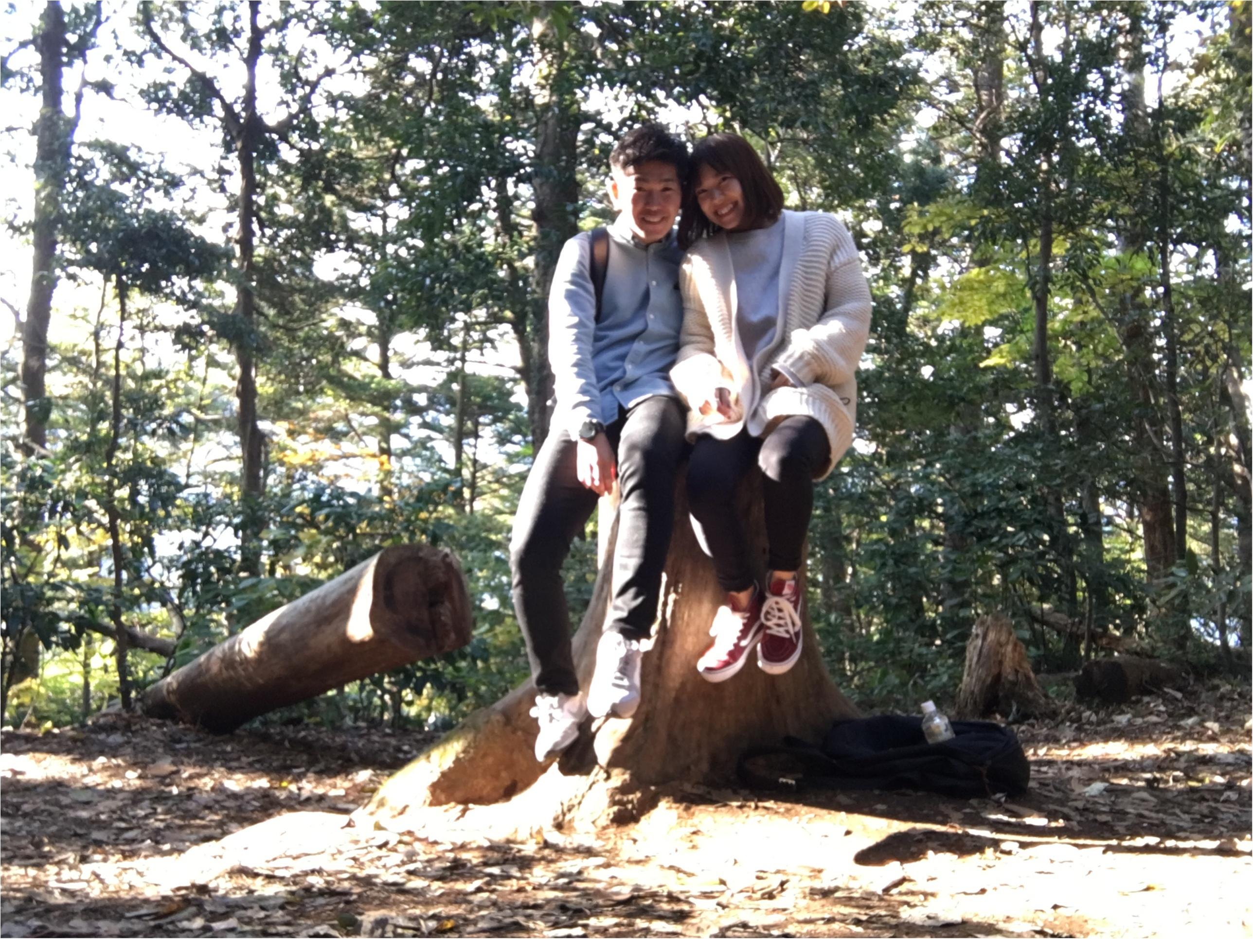 《日帰りデート》気軽に行ける高尾山で秋を満喫!彼とのリンクコーデは【UNIQLO】のあのアイテム❤️_10