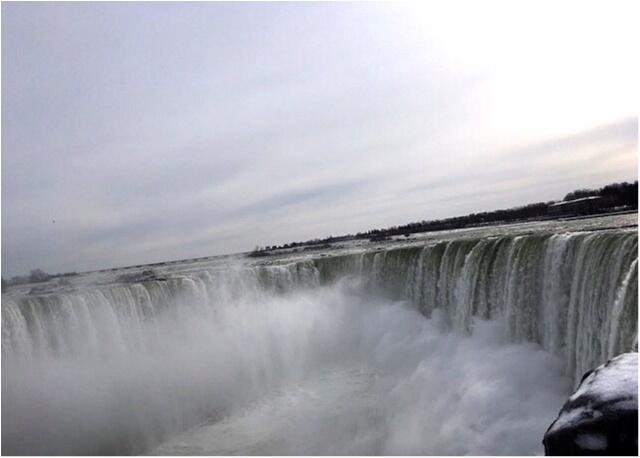 【現地レポート】大晦日は心洗われるナイアガラの滝へ_12