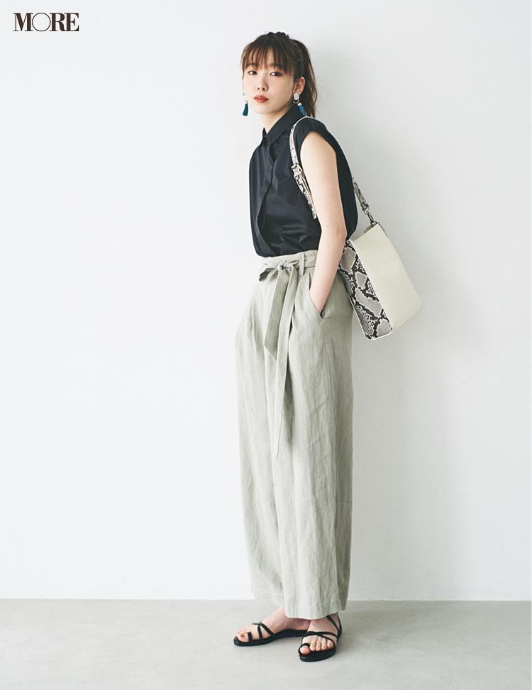 夏▶︎秋パンツは安くて洗えて涼しいこの5本☆ 税抜¥11000以下で集めました!_2