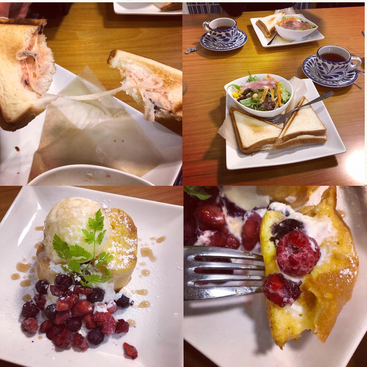 <福岡*博多>くまさんを沈める?!念願の冬季限定ドリンクを求めて人気のカフェへ行ってきました!♡_8