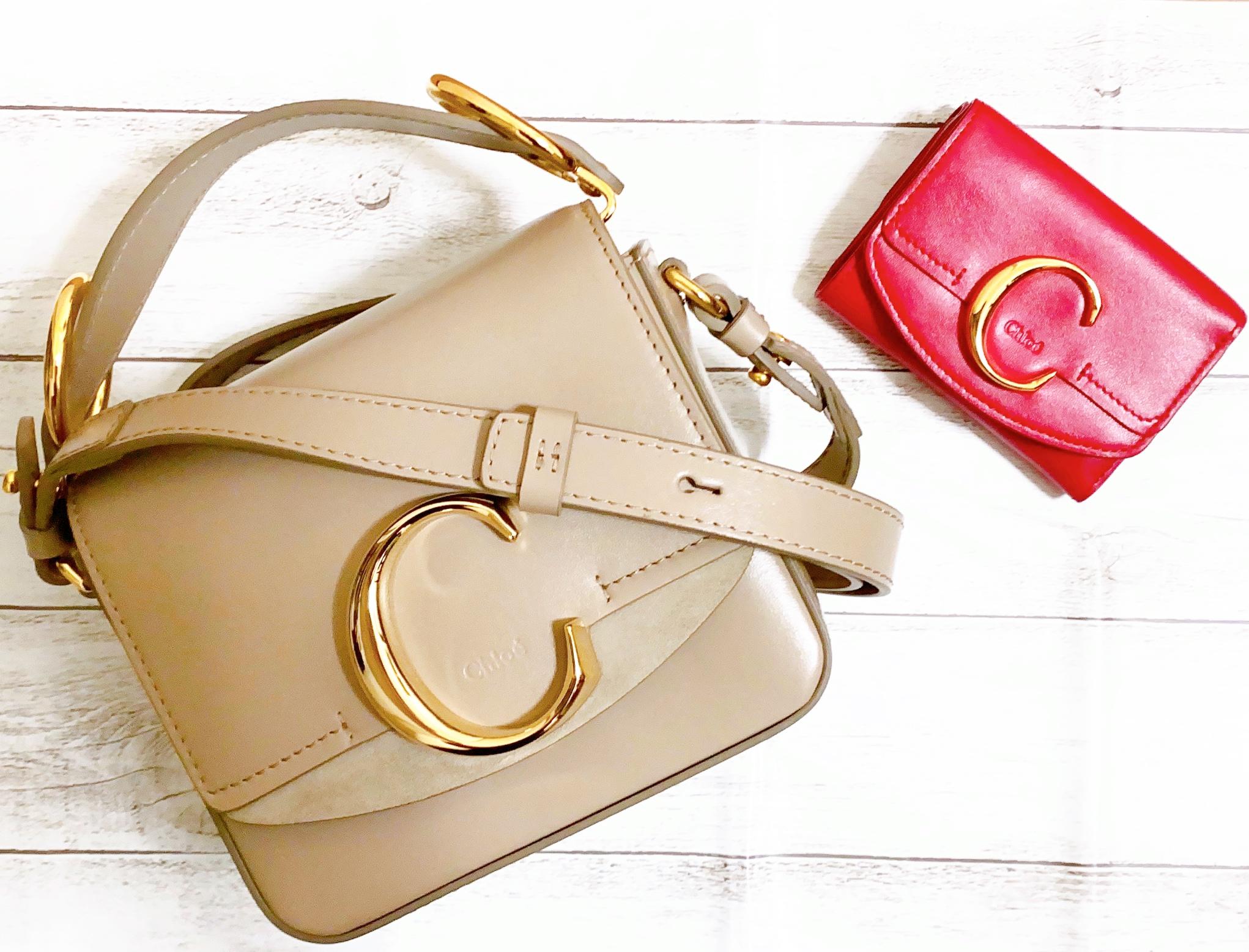 【Chloé Cシリーズが可愛い!】おそろで持ちたい♡ミニバッグとミニ財布_1