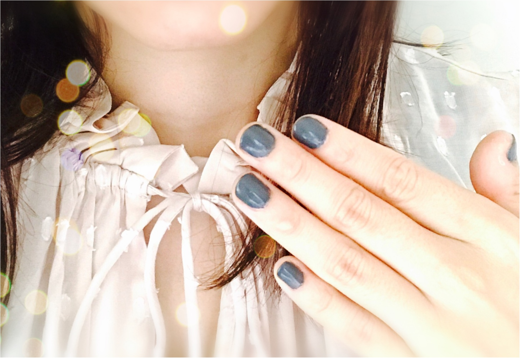 【秋ネイル】YSLのグレーでこっくりセルフネイルが可愛い♡♡♡_5