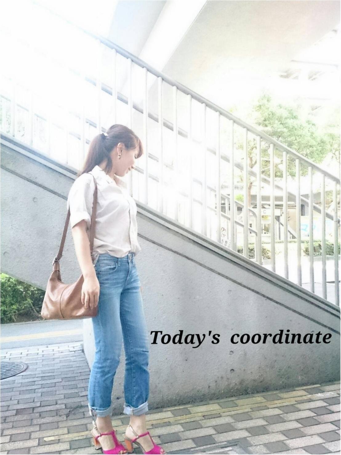 【コーディネート】カジュアルおしゃれのコツは足元にあり!隅田川花火と今日のコーデ_1