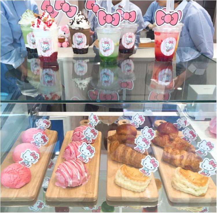 《キティちゃんのパン屋さんが原宿にオープン♡》かわいすぎるフード、限定グッツがたっくさん♡最後のページは初の試みです!!_4
