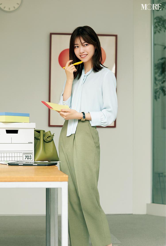 西野七瀬が私の職場にやってきた‼︎  オフィスコーデを着こなす彼女をこっそり覗き見♡_3