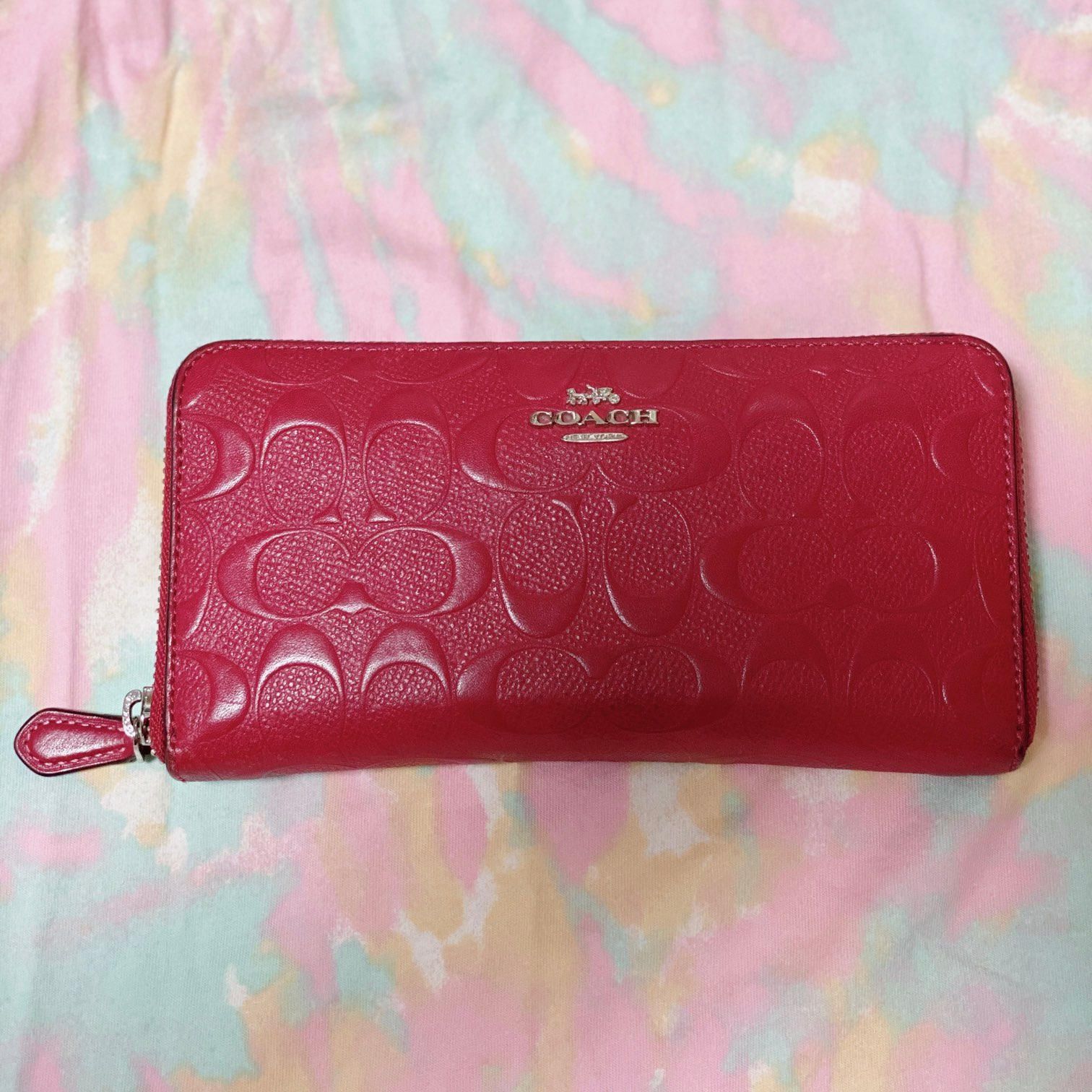 【20代女子の愛用財布】私の愛用お財布は『COACH』の長財布♡_1