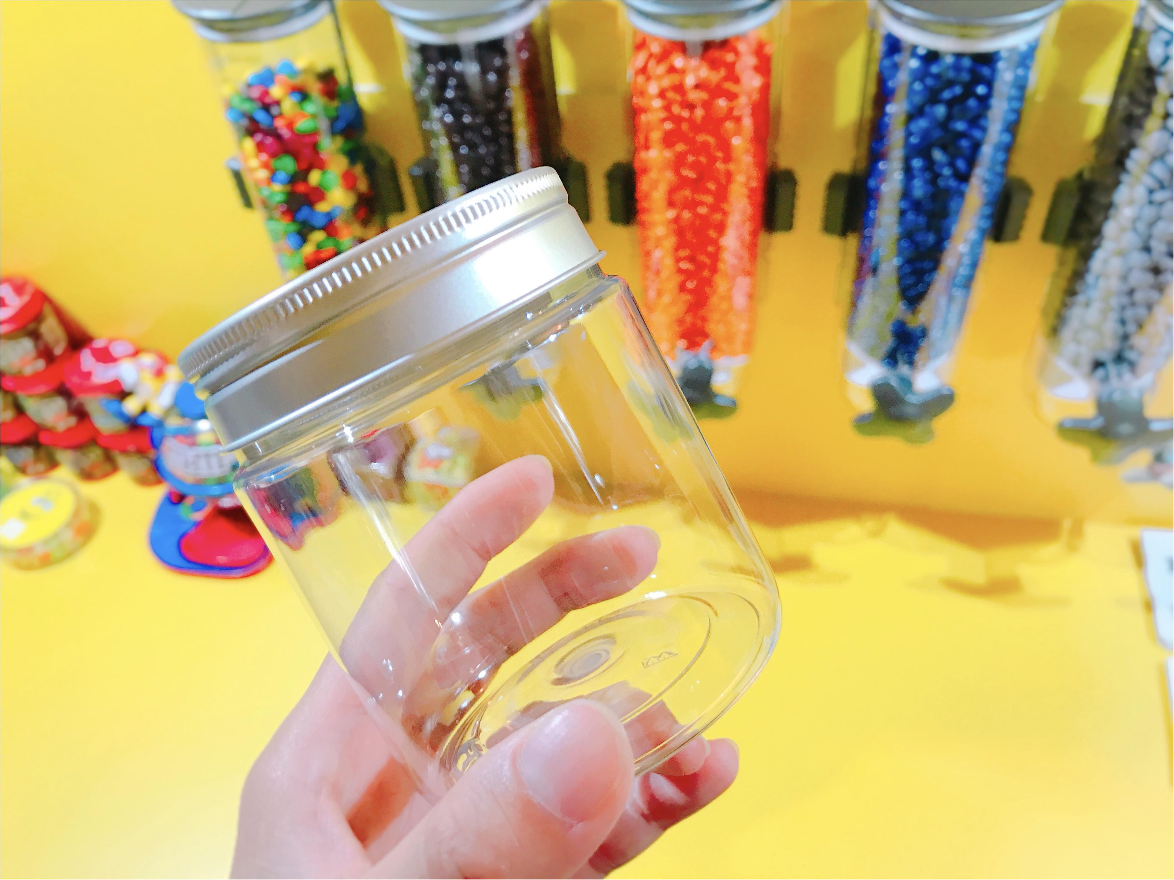 《期間限定》原宿にNY発カラフルパフェ登場✨日本初上陸のM&M'Sマイボトルチョコを作っちゃおう♪_5