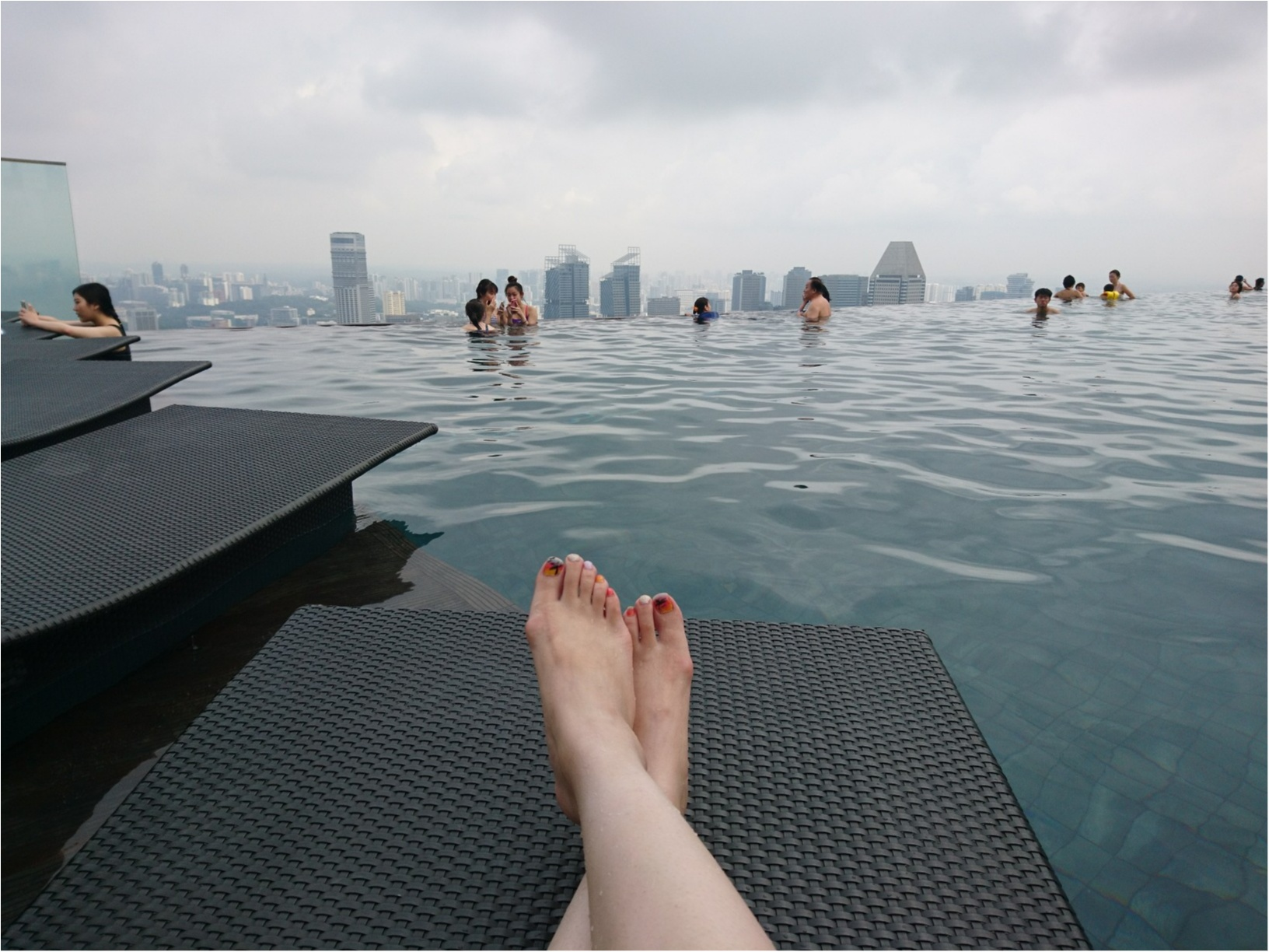 ≪海外旅行/シンガポール/宿泊編≫一度は泊まってみたいあの屋上プール付きホテル!_4