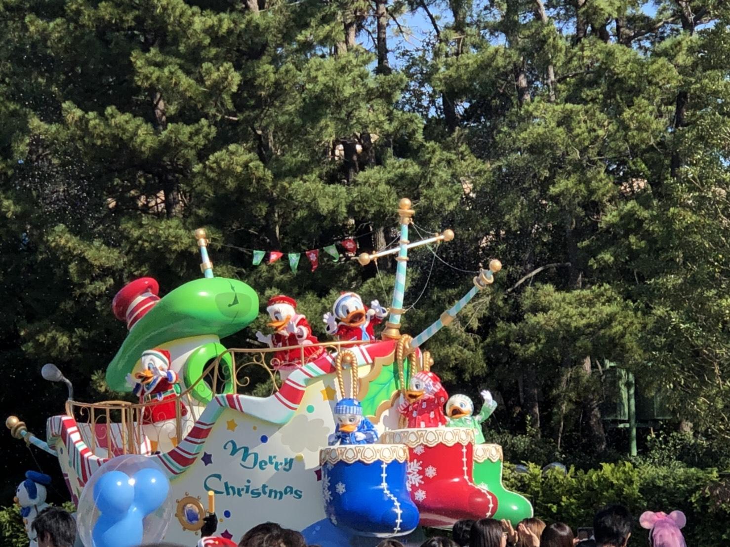 〈ディズニーランド*クリスマスディズニー2019〉①_3