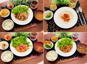 【今月のお家ごはん】アラサー女子の食卓!作り置きおかずでラク晩ご飯♡-Vol.18-