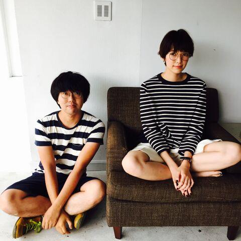 【オフショット】栞里のおしゃれペアルック_2