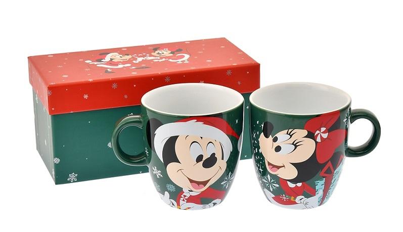 『ディズニーストア』で発売中のペアマグカップ「ミッキー&ミニー マグカップ ペア Disney Christmas 2020」