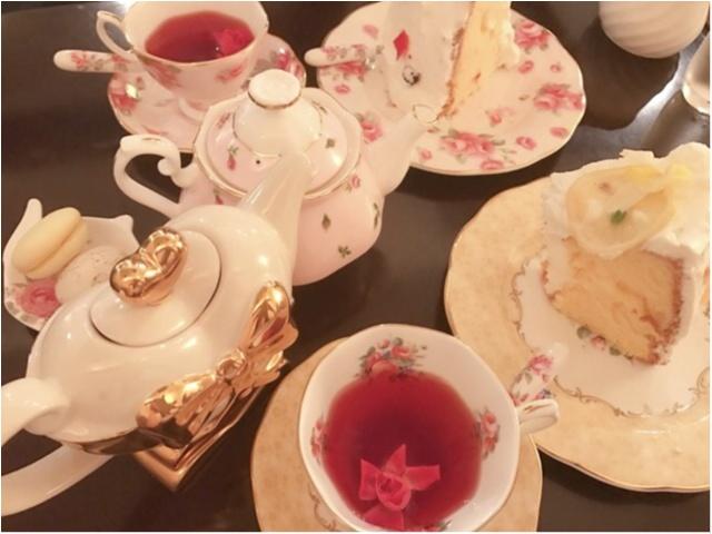 【#東京カフェ巡り】自分で食器が選べる!?『カフェ シャンソニエ アコリット』はアンティークな魅力がいっぱい♡_1