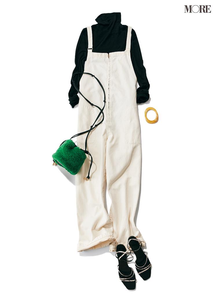 """""""あざと可愛いおうちコーデ""""は、サロペットで作れるっ♡ 女っぽく着るために合わせるべきインナーは?_6"""