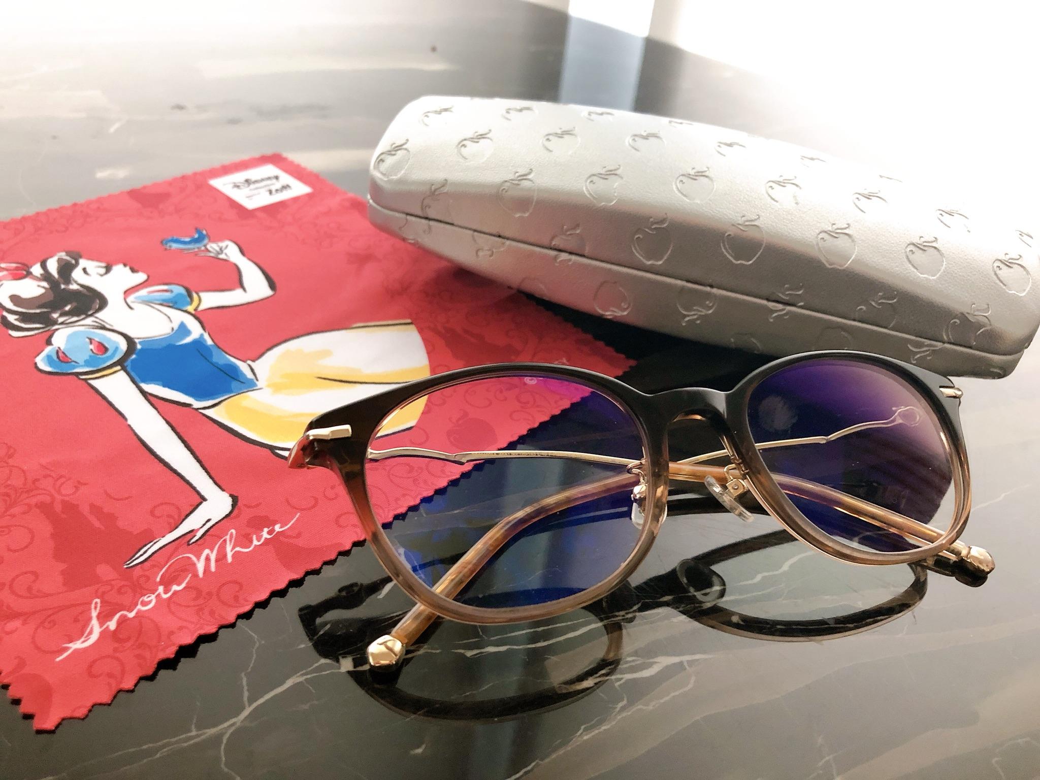 【Zoff】アクセサリーみたいな可愛さ♡ディズニープリンセスのメガネに一目惚れ(๑>◡<๑)! ブルーライトカット仕様は追加料金0円!_1