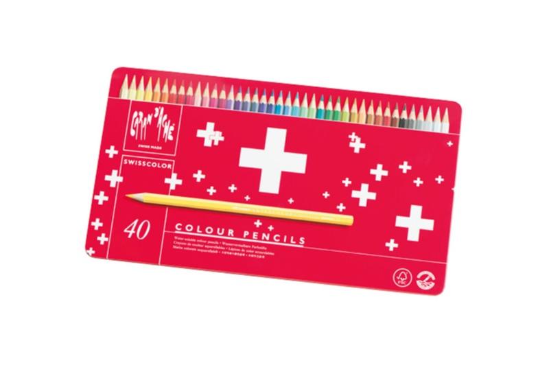 結婚式のウェディングボードにも使える! 『カランダッシュ スイスカラー色鉛筆40色セット』【こちら、三戸文房具堂。】_4