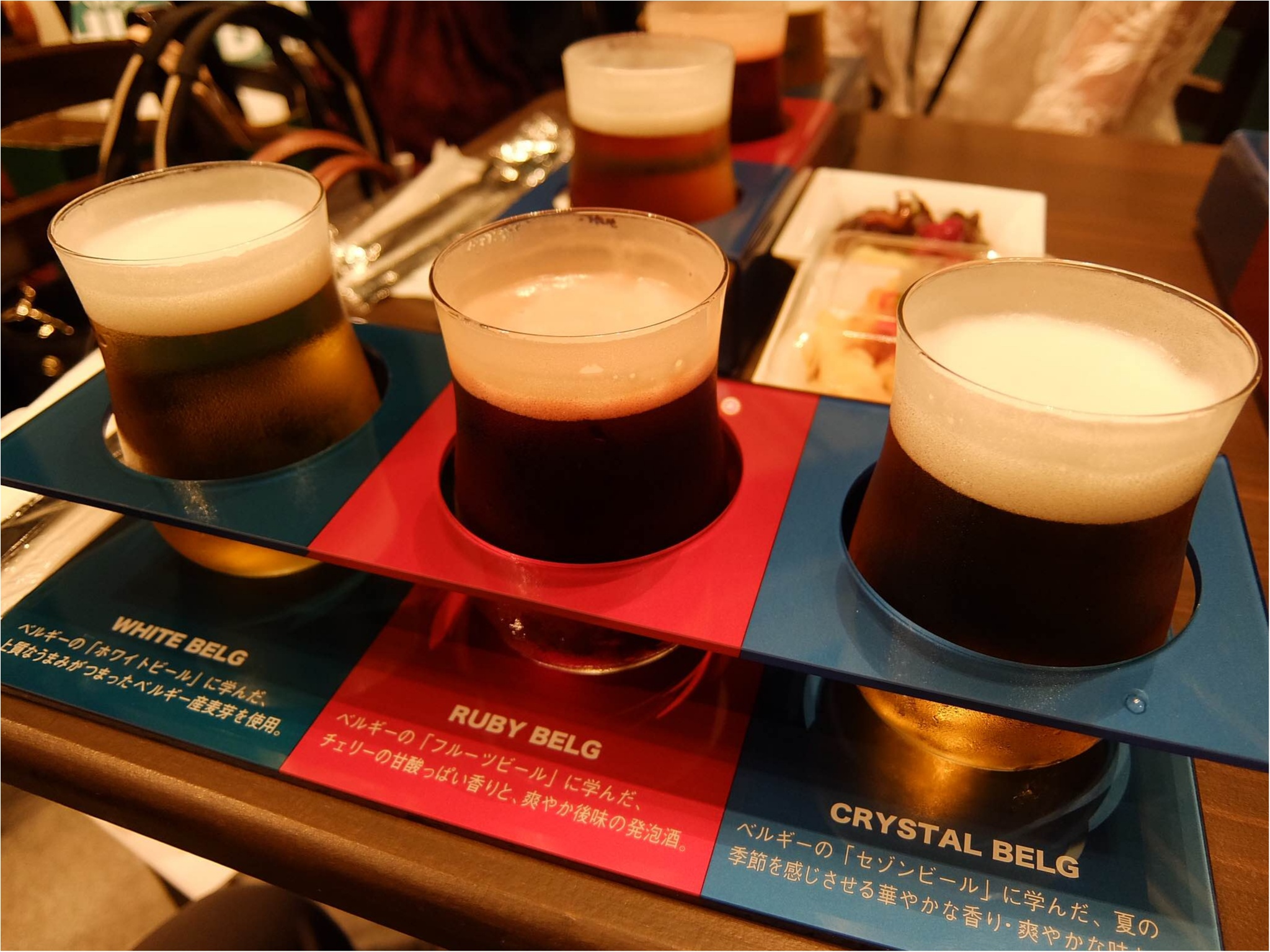セシルちゃんもおすすめ!ホワイトベルグフェスで3種のお酒を飲み比べ♡_3