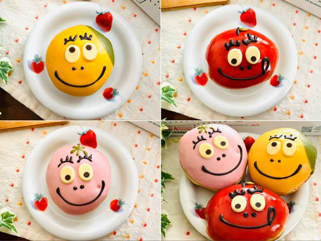 【バーバパパ×クリスピークリーム・ドーナツ】再びコラボ!あまりの可愛さに全3種買い♡_2