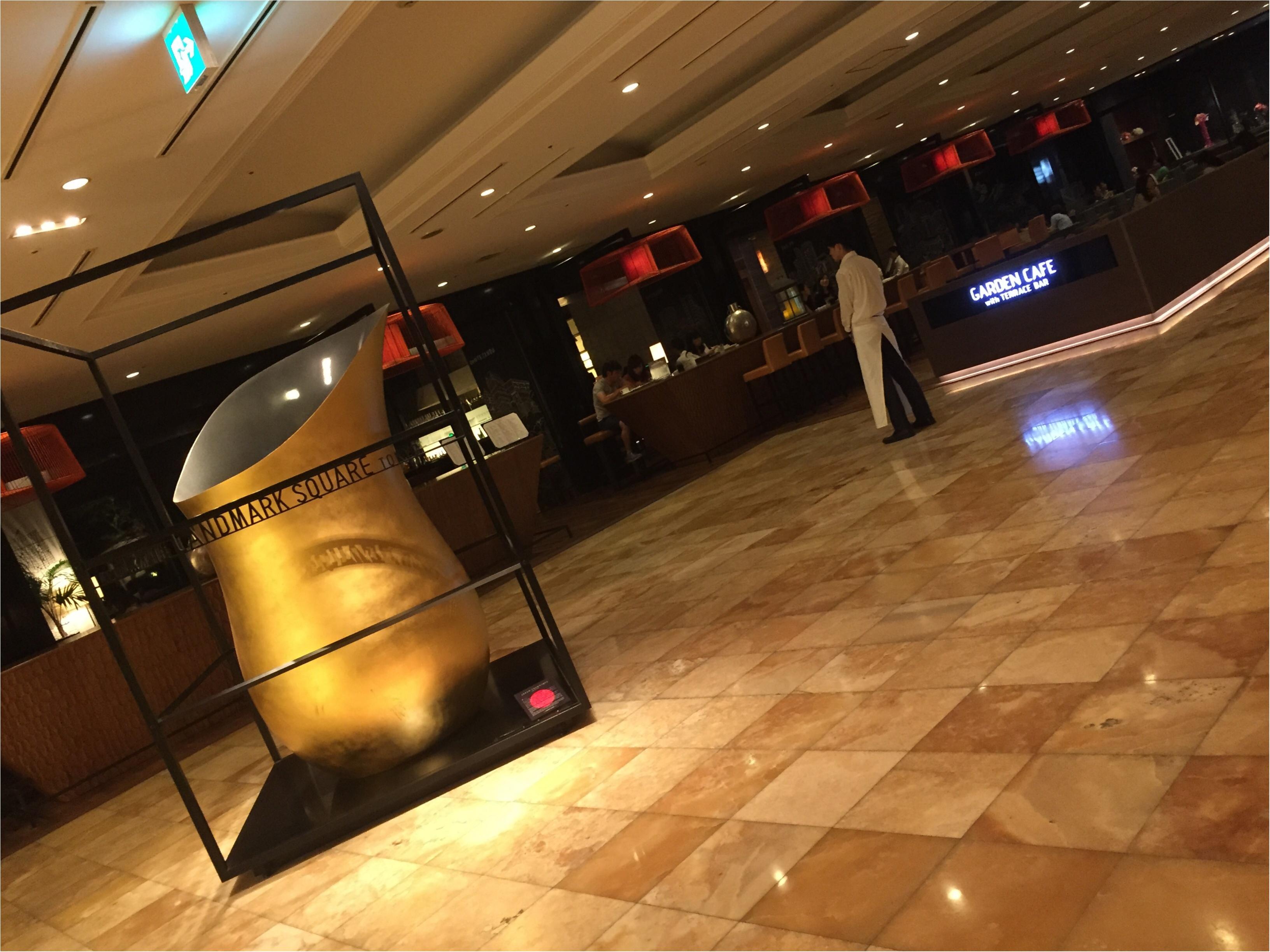 料理も最高♡1ランク上のビアガーデンで優雅なひとときを過ごすなら✨バースデーサプライズにもお薦め♪【THE LANDMARK SQUARE TOKYO】_2
