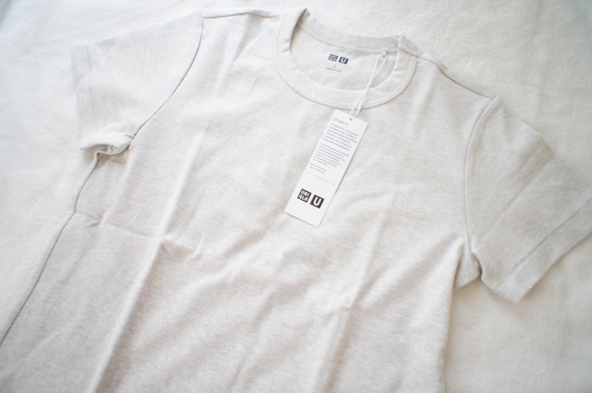 《#170cmトールガール》のプチプラコーデ❤️【Uniqlo U】の大人気Tシャツ!買い足すなら◯◯カラーがおすすめ❤︎☝︎_1