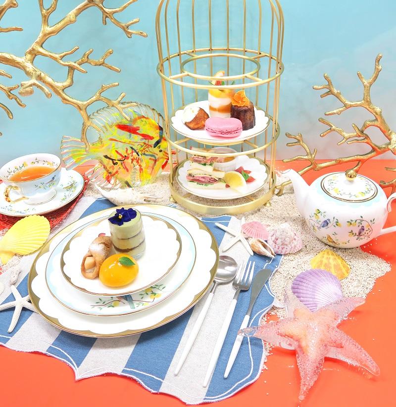"""""""Chestyカフェ""""こと『Ch Tea Room Kobe』の、リゾート感溢れるアフタヌーンティーを楽しまなくっちゃ♡_1"""