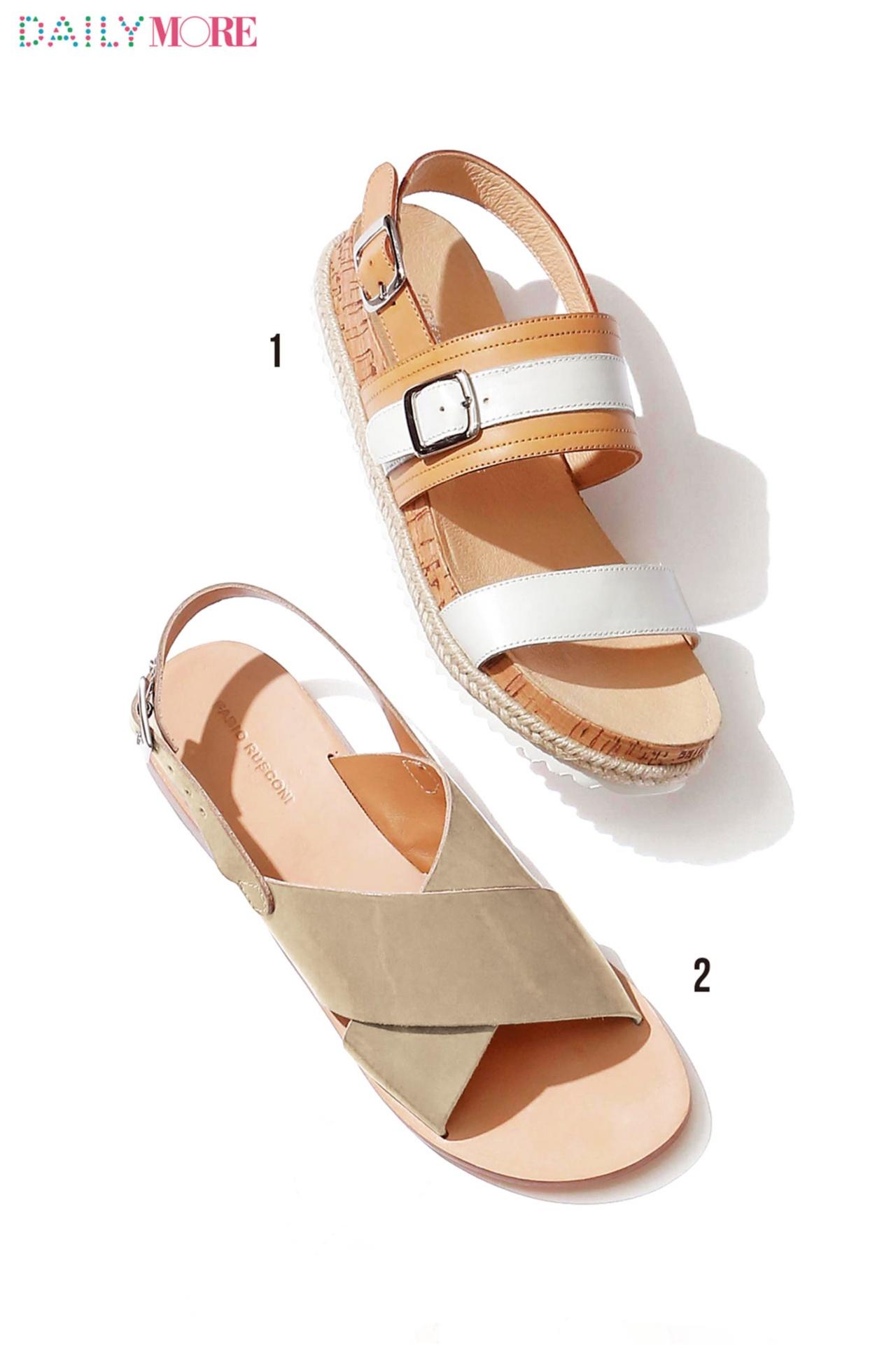 """女っぽさもこなれ感も! around27歳のためのフラット靴は""""アンクルストラップ""""と""""太ベルト""""に決定_4"""