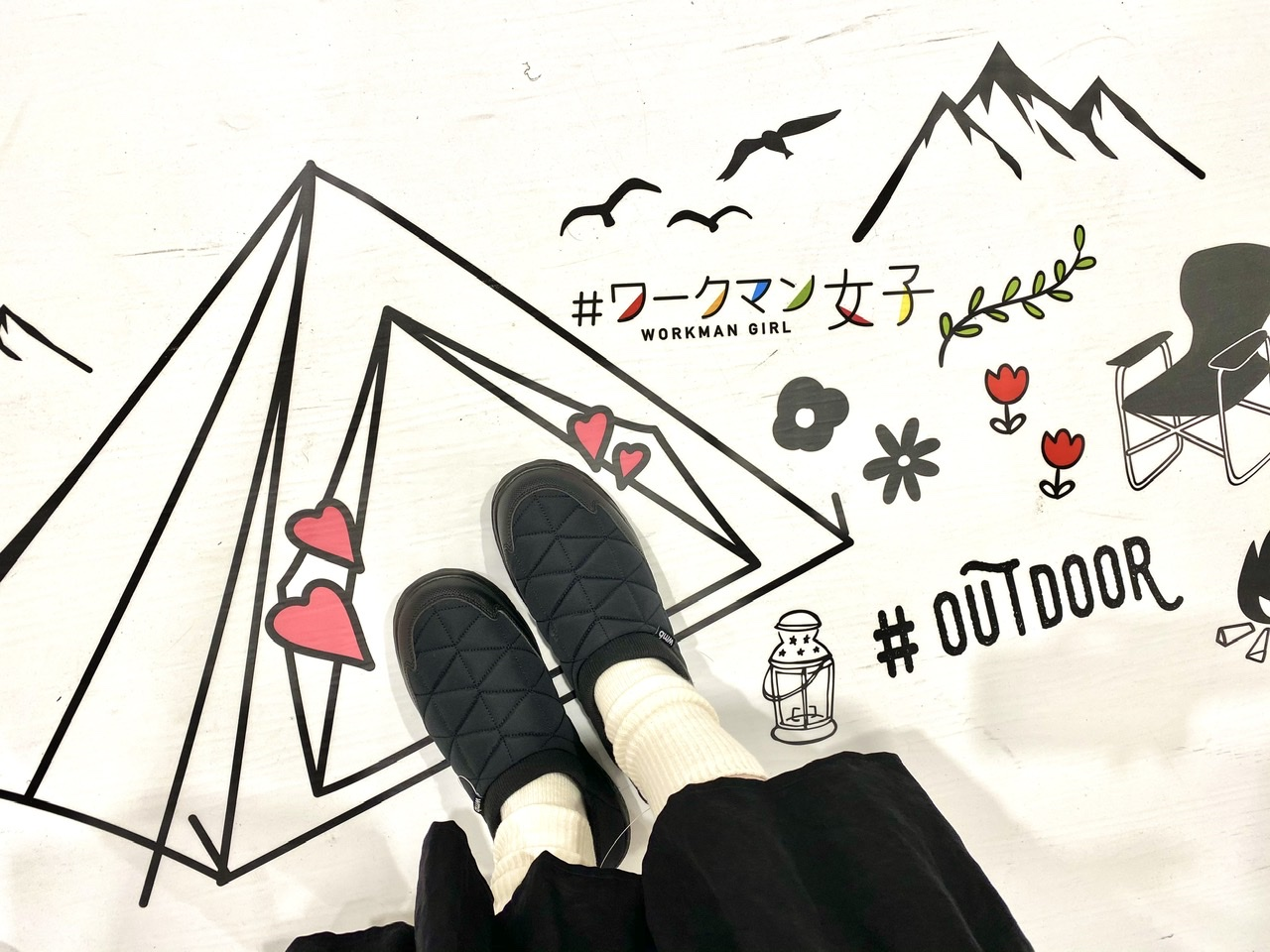 """『#ワークマン女子』本日10/16(金)オープン! 本気で""""モテそうな服""""探してみました♡_9"""