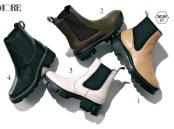 秋靴のトレンドは「ごつめ」。脚長見えなブーツ&おじ靴を狙え!