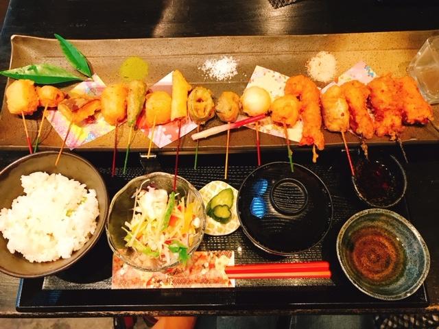【京都おすすめグルメ】見た目も味もはなまる!!可愛い京都の串屋さん♪_1