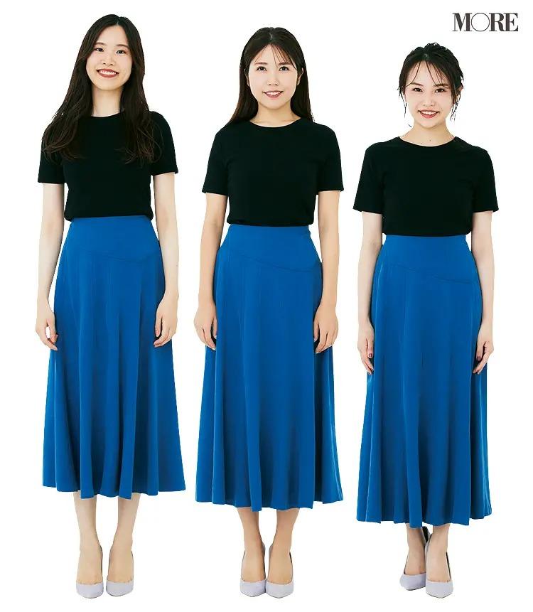 体型別に読者が試着! ワンピ、パンツ、スカート、どのデザインが一番きれいに見える?PhotoGallery_1_2