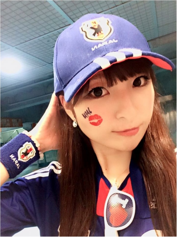 ♡【本日キリンカップ】サッカー観戦女子のコーデ♡モアハピ◡̈のぞみ♡_1