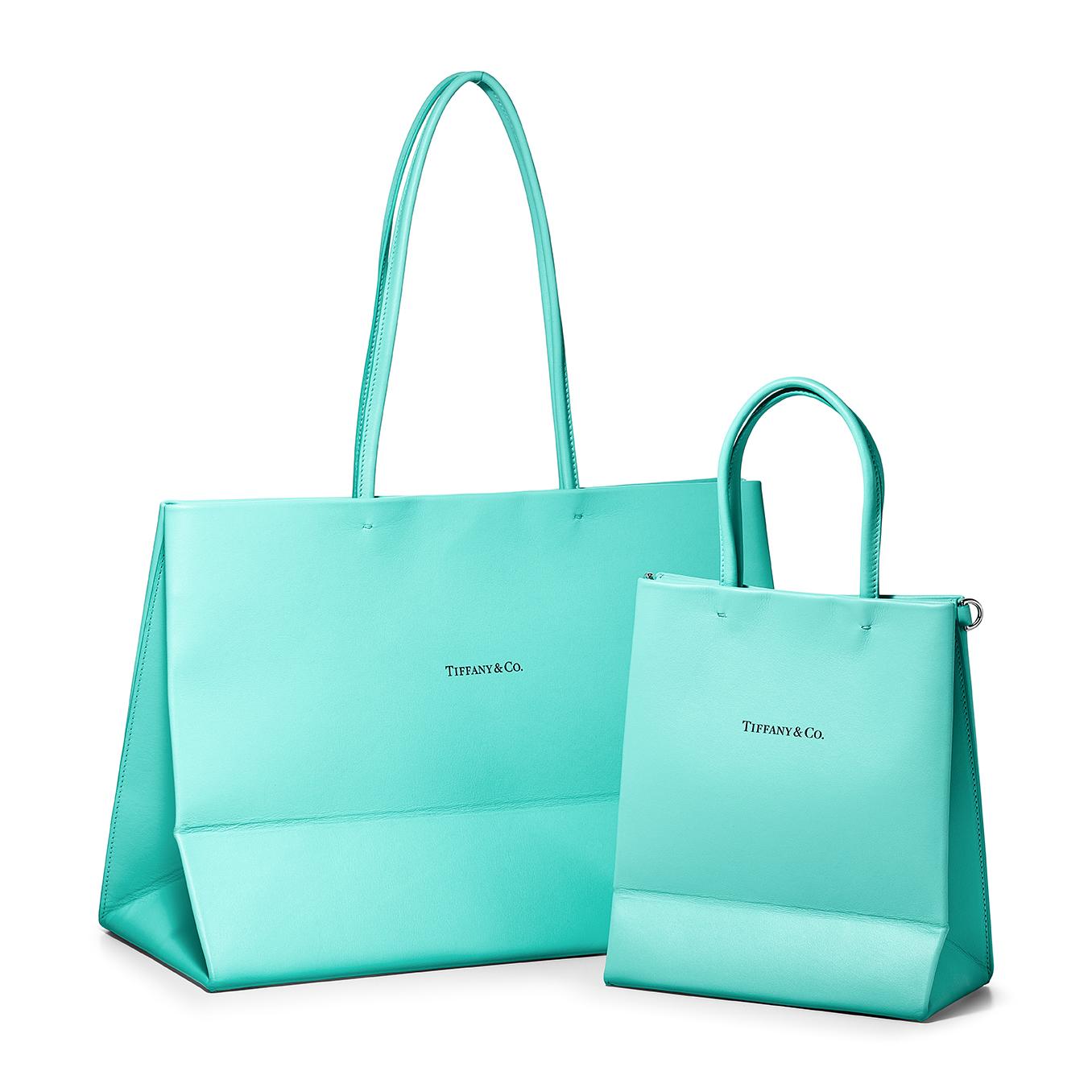 『ティファニー』のショッピングバッグがレザーになった! 日本限定のミニサイズも展開♡_1