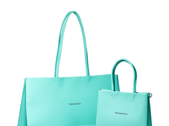 『ティファニー』のショッピングバッグがレザーになった! 日本限定のミニサイズも展開♡ PhotoGallery