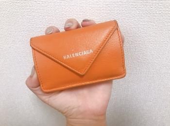 【20代女子の愛用財布】手に収まるサイズ感♡でも大容量なバレンシアガのミニ財布