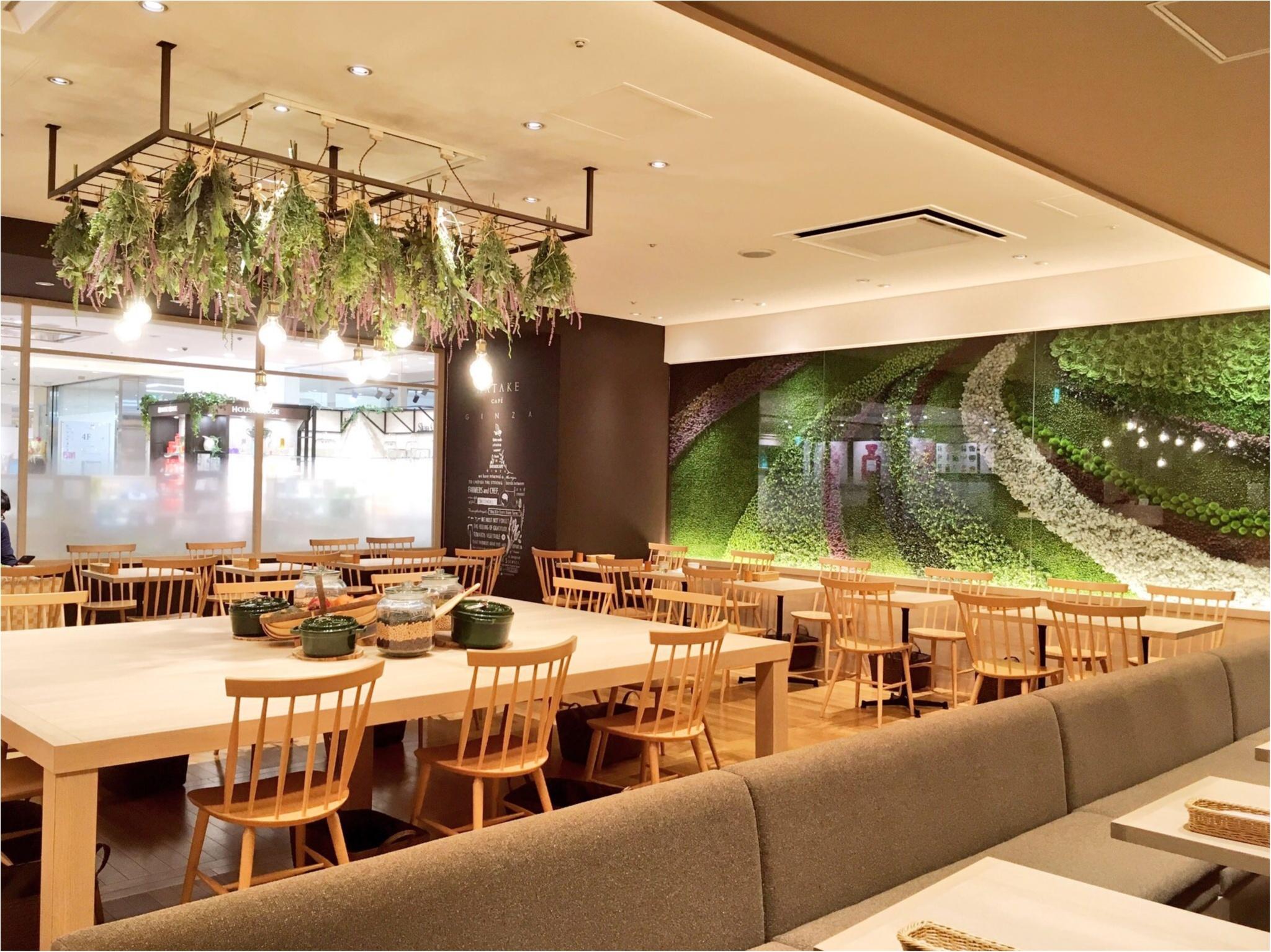 銀座マロニエゲート『HATAKE CAFE』のメニューが体に優しい&おいしすぎる〜(﹡´◡`﹡ )♡_3