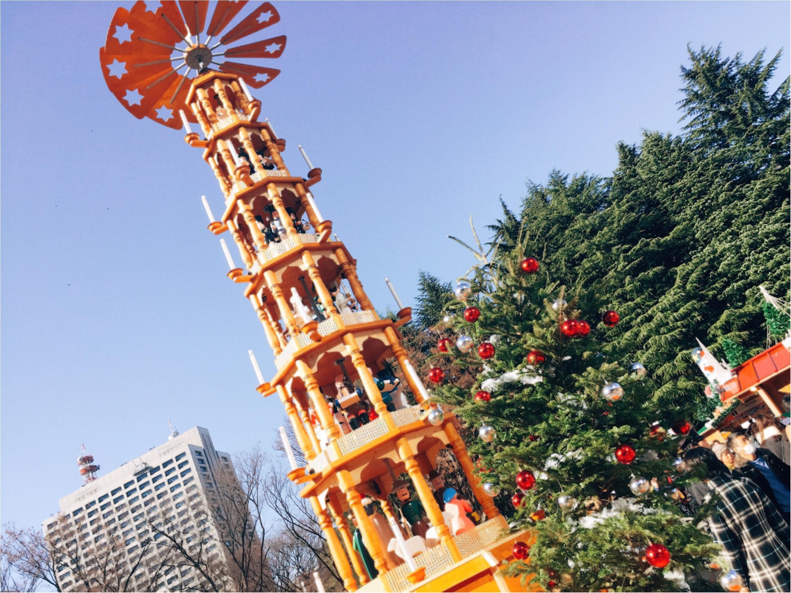 日比谷の《東京クリスマスマーケット2016》でちょっと早めのクリスマス気分を味わおう♡*_2