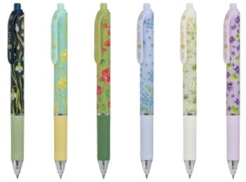 《Twitter フォロー&RTで応募》『ぺんてる』×『日比谷花壇』の花柄ボールペン3本セットを20名様にプレゼント!
