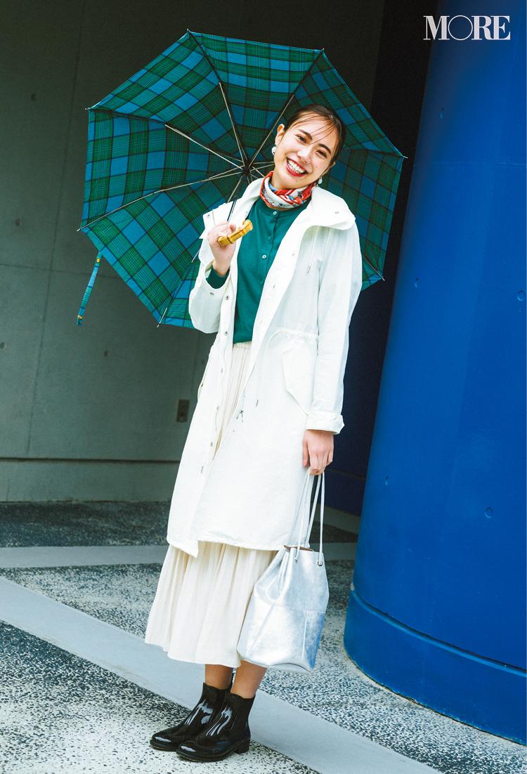 雨の日コーデ・梅雨コーデ特集 - レインコートや靴など、雨の日もおしゃれに過ごせる撥水アイテム・防水グッズは?_1