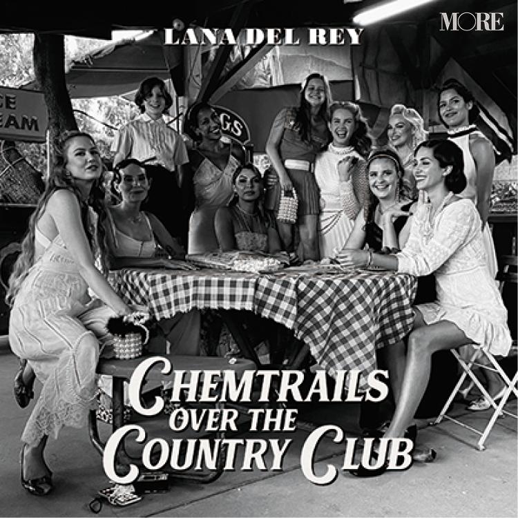 ラナ・デル・レイのアルバム『Chemtrails Over The Country Club』ジャケ写