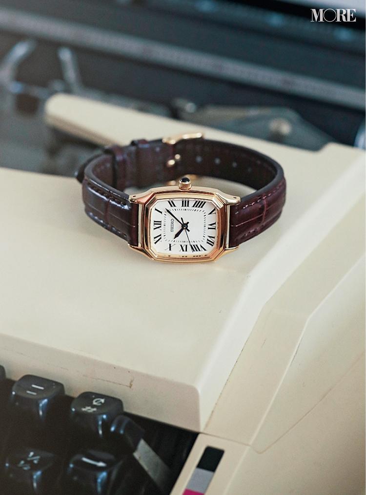 『トリー バーチ』のバッグ、『セイコー×シンゾーン』の腕時計。スタイリスト石田 綾さんが心踊るホリデーアイテム☆_7
