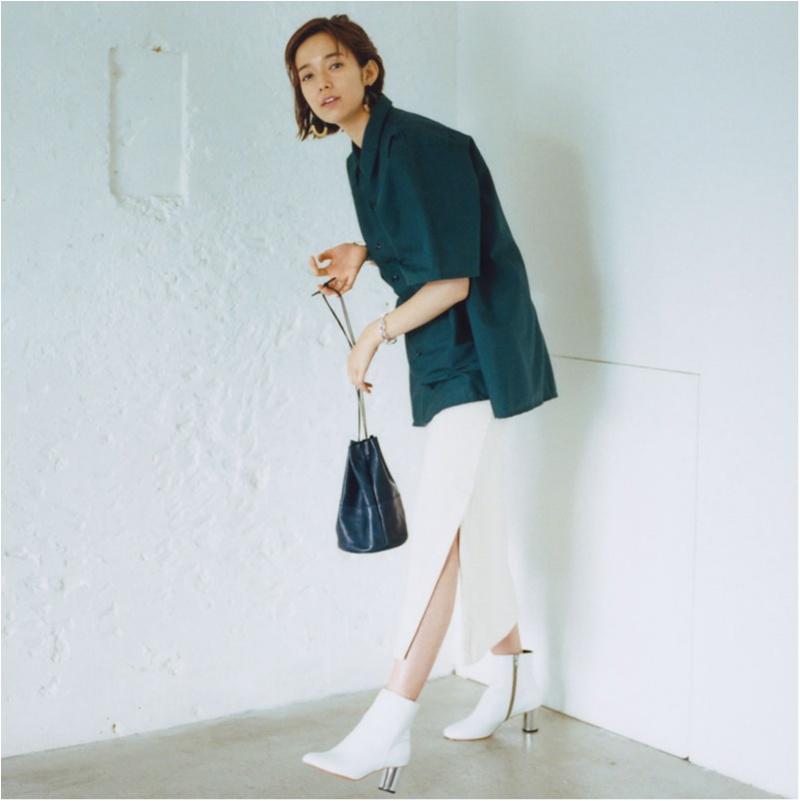 ちょっぴりの色気も欲しいから。佐藤栞里は「パーツをきれいに見せる服」を指名!_1_3