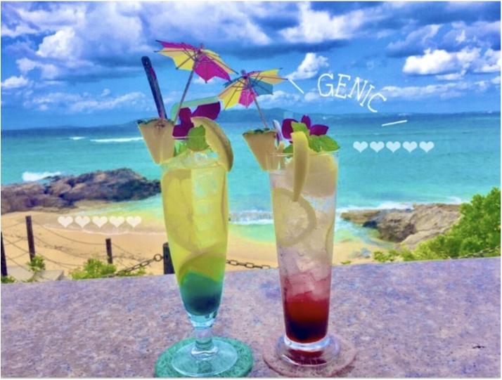 【沖縄女子旅】このドリンクがイチオシ!沖縄カフェの大定番♡ダイヤモンドブルーカフェ_7