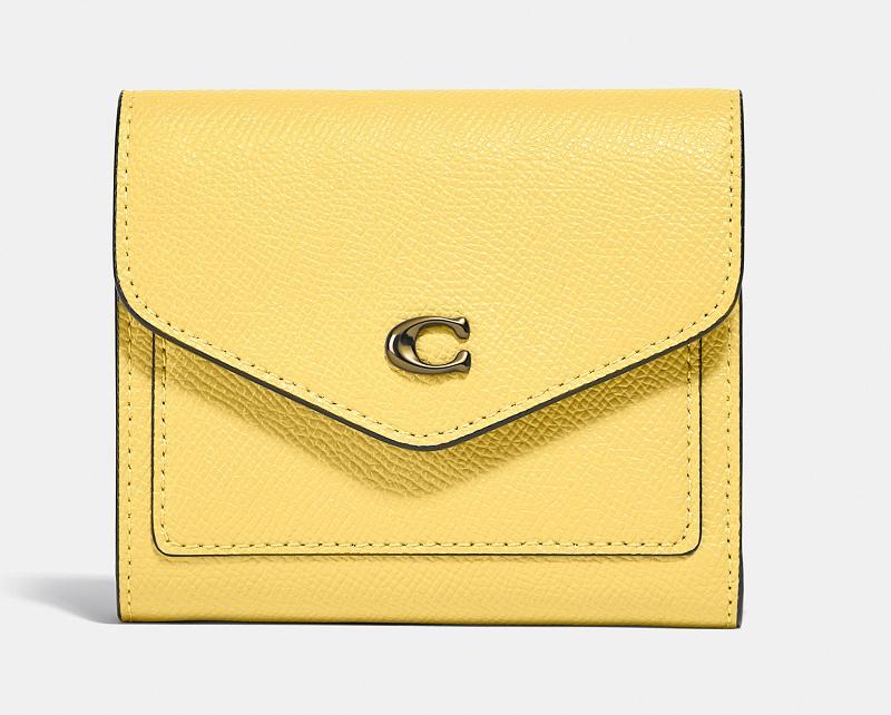 コーチ、黄色の財布