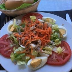 スペイン ナヘラでお食事!