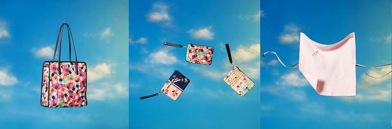 BEAMS×ケイトスペードの限定カプセルコレクション。バッグやポーチなど